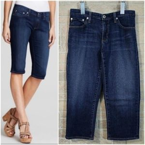 AG Adriano Goldschmied Maiden Cigarette Crop Jeans